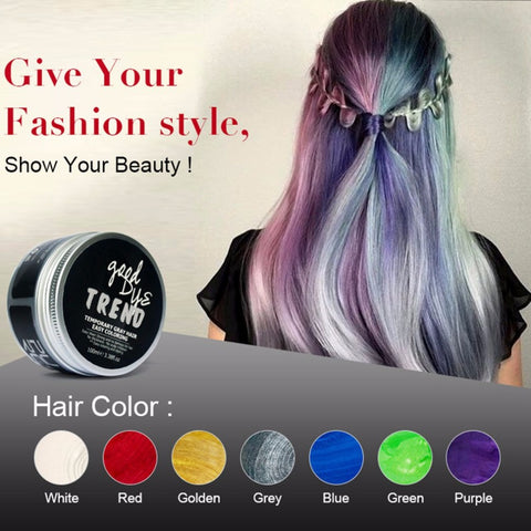 Disposable Hair Color Cream Universal Styling