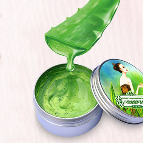 2017 Highly Concentrated Aloe Vera Gel Moisturizing Oil Replenishment Acne Remove Scar Skin Care Products Hot