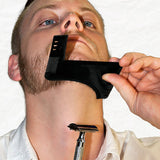 Men's Beard Grooming Shaping Comb