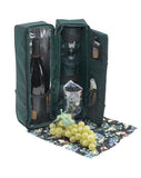 Green Solana Two Person Wine Tote
