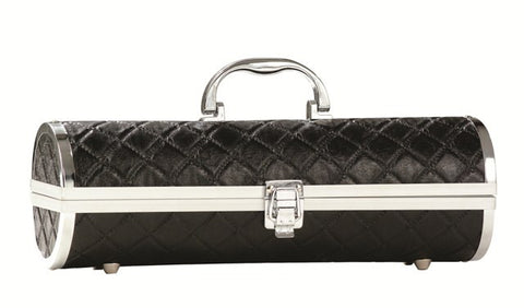 Black Quilted Gala