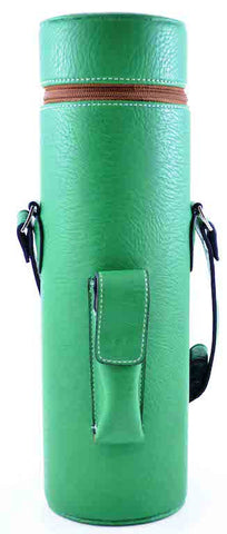 Green Faux Leather Enclave