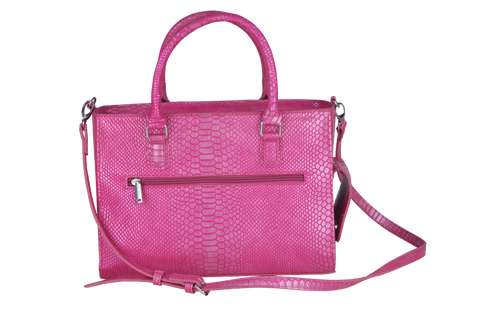 Pink Reptilian Insulated Drink Purse