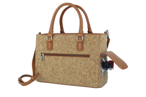 Cork Insulated Drink Purse