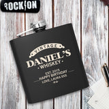 Personalised Luxury Hip Flask - Vintage Whiskey