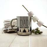 Personalised Dad's Happy Camper Outdoor Mug