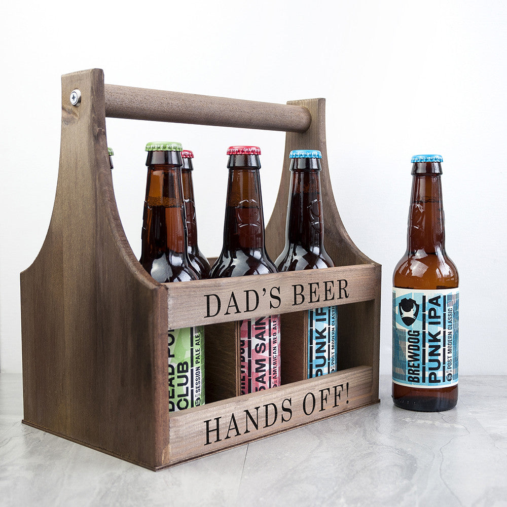 Personalised Father's Day Garden Beer Trug Gift - Beer not included