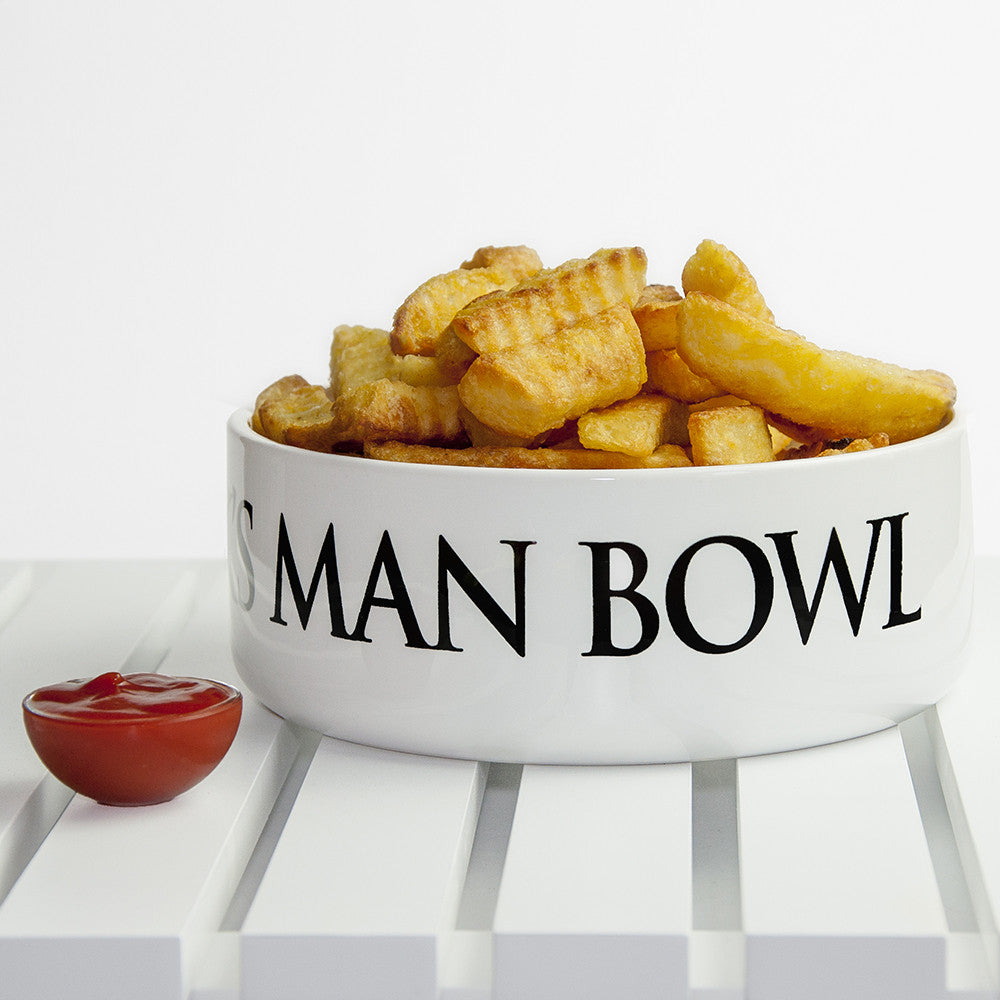 Personalised Super Large Man Bowl