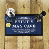 Personalised Gentlemen's Father's Day Man Cave Bar Mat Gift