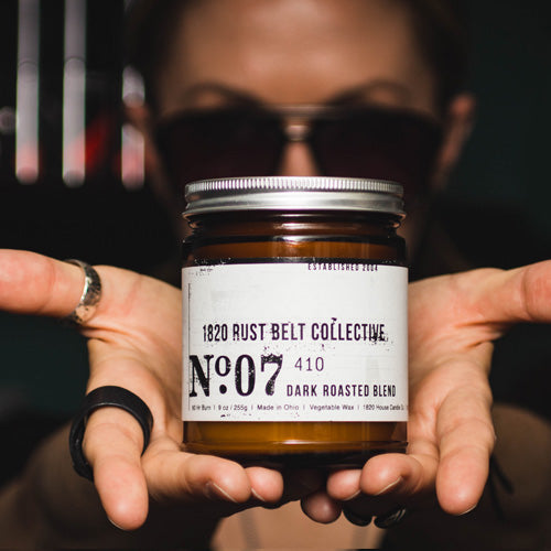 No. 7 Dark Roasted Blend - Candle