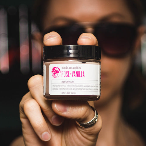 Natural Deodorant - Rose + Vanilla JAR