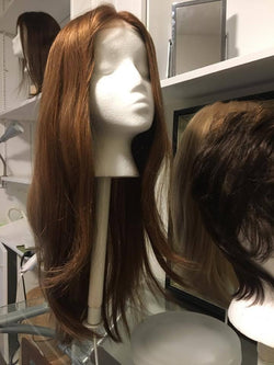 LONG 100% virgin Human Hair Silky straight  - Full lace