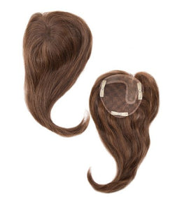 Envy Topper- 100% Human Hair Left Part