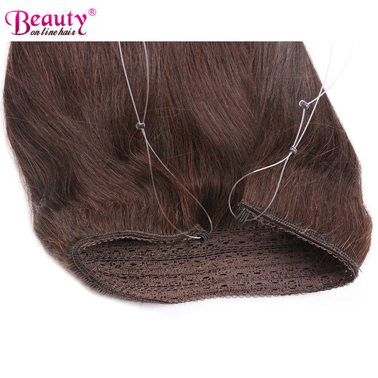 Invisible wire headband hair extensions virgin brazilian human invisible wire headband hair extensions unprocessed brazilian virgin hair pmusecretfo Images