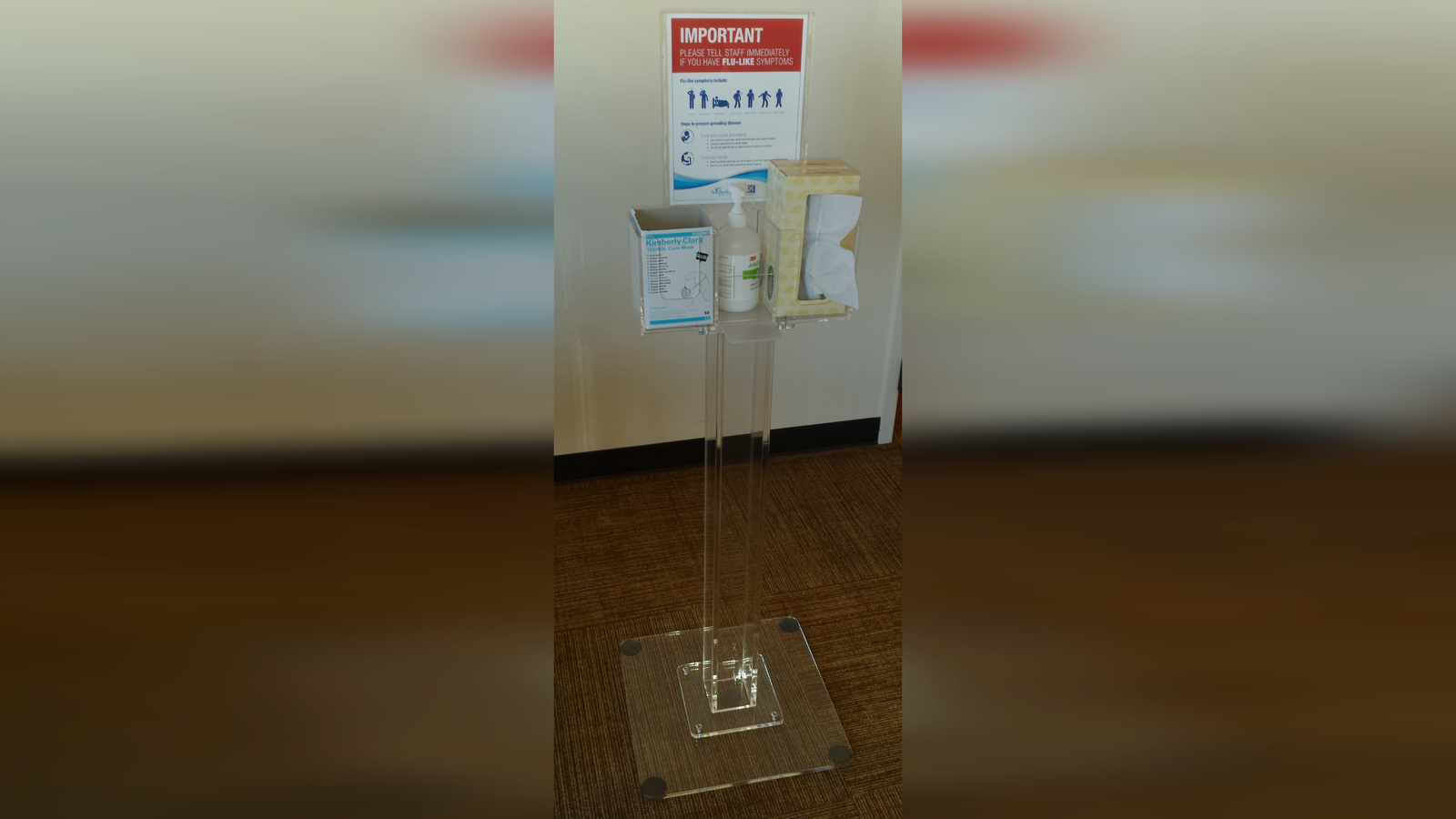 Acrylic Stand - Poltex organizational products for hospitals and labs