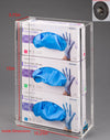 Acrylic Glove Box Holder (w/magnets)