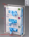 Acrylic Glove Box Holder (Wall Mount)