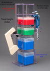 Lab Bench Vertical Organizer (PETG)