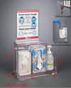Theft Deterrent/Locking Respiratory Hygiene Station G