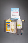 Wall Mount Sanitizing Station with Padlock