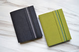 Alessandra Clothbound Notebook in Olive