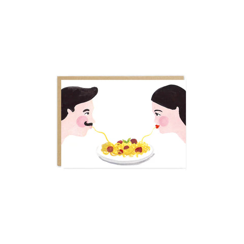 'Pasta Lovers' Card