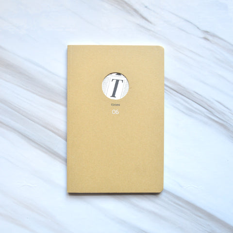 The Times blank notebook