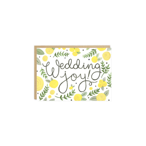 'Wedding Joy' Card