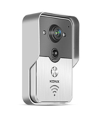 Knox WiFi Wireless Video Doorbell and Intercom with Peephole Camera