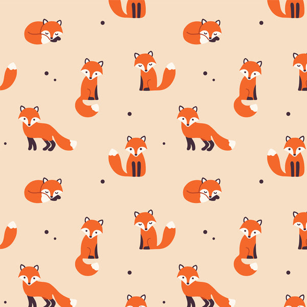 Fox  - Removable Wallpaper