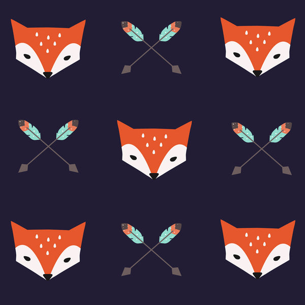 Foxy - Removable Wallpaper