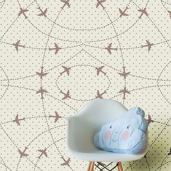 Airplanes - Wall Mural - Wallpaper