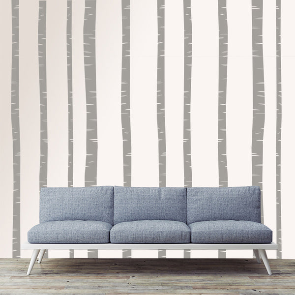 Birch Trees Set - Wall Decal