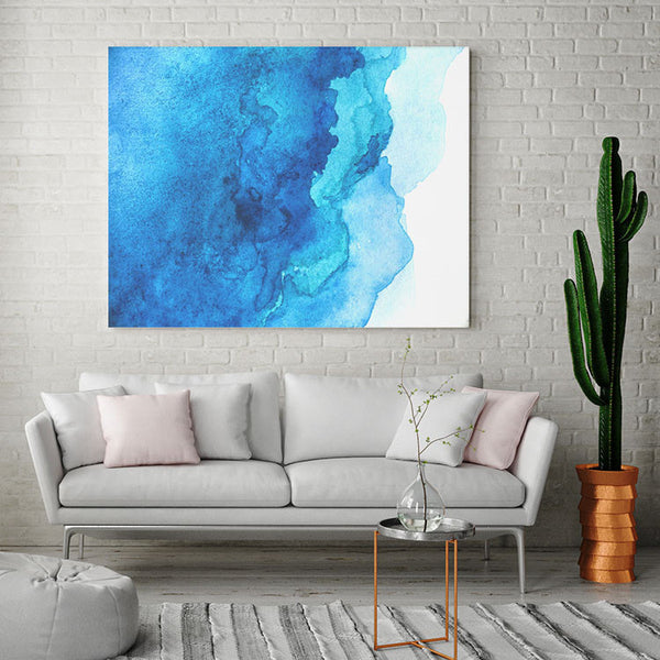 Blue is the Warmest Color - Canvas Print