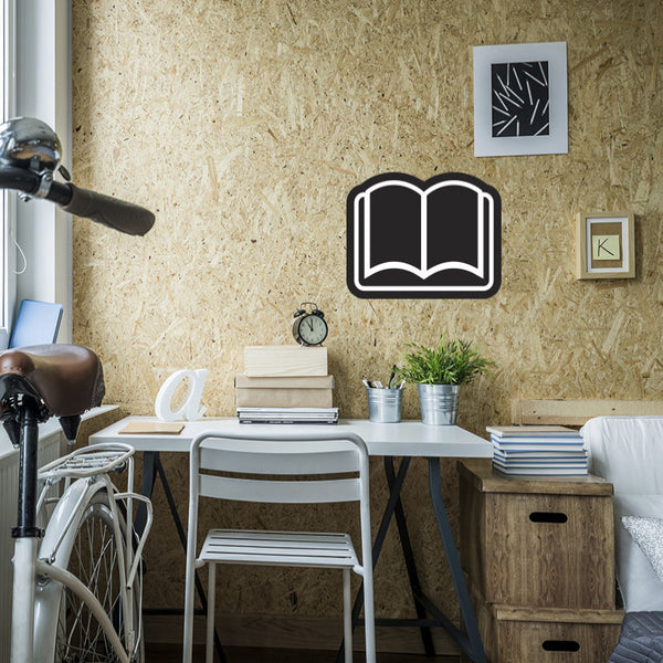 Book Chalkboard - Wall Decal
