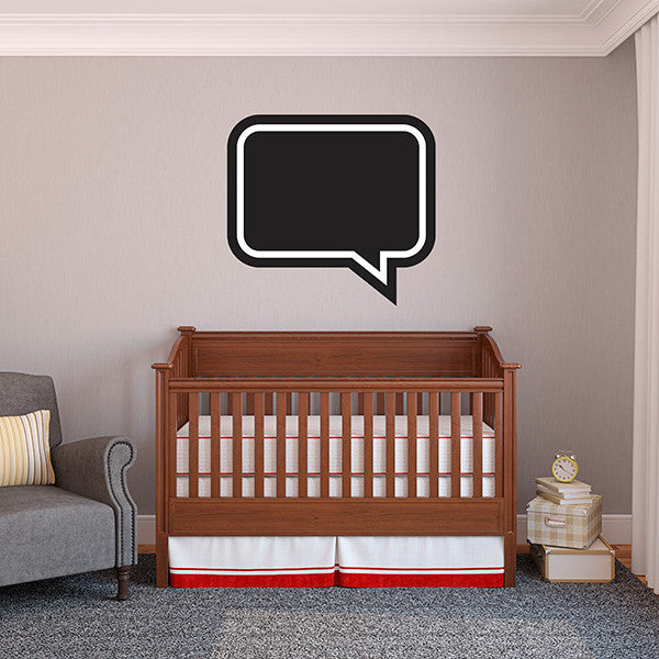 Quote Chalkboard - Wall Decal