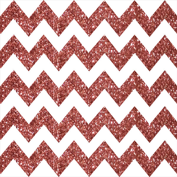 Rose Gold Chevron - Photo Booth Backdrop