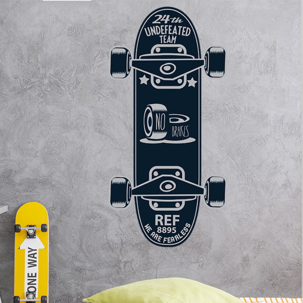 City Skater - Wall Decal