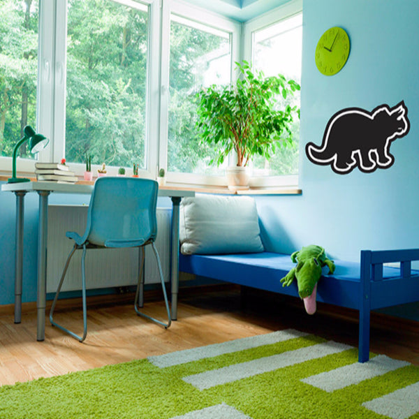 Dinosaur Chalkboard - Wall Decal