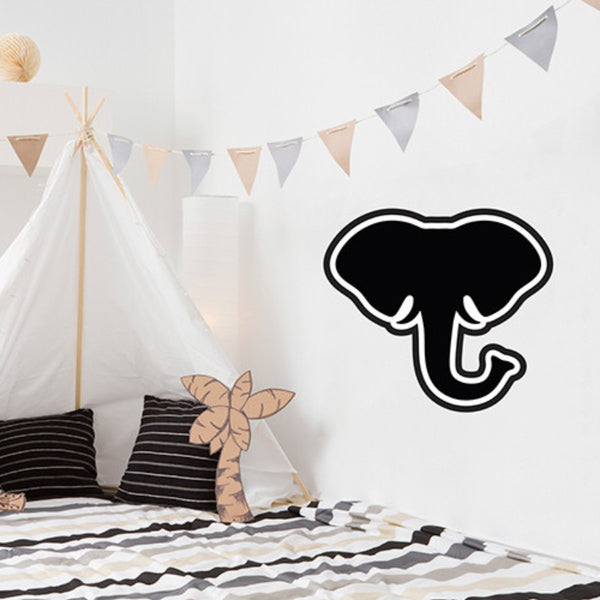 Elephant Chalkboard - Wall Decal