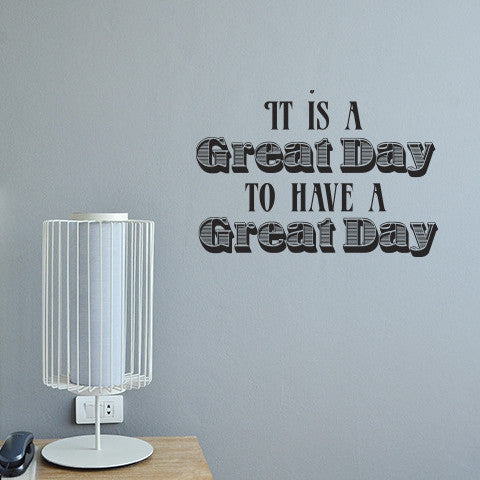 Great Day - Wall Words Decal