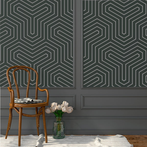Geometric Y - Removable Wallpaper