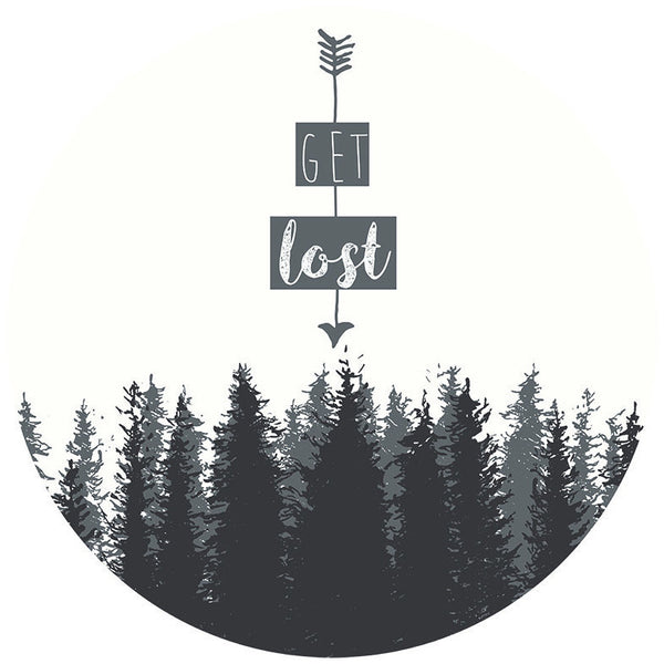 Get Lost (Poster) - Wall Words Decal