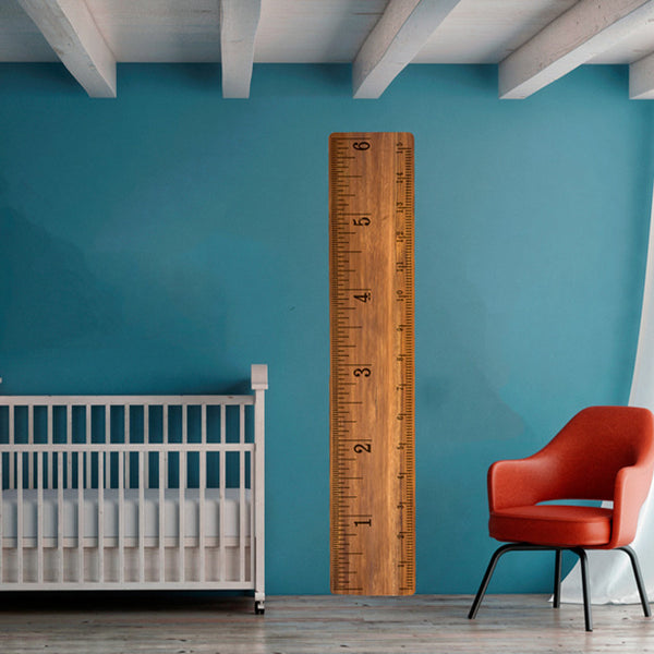 Traditional Growth Chart - Wall Decal