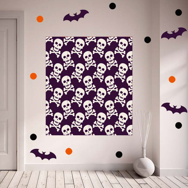 Halloween Skulls Set - Photo Booth Backdrop