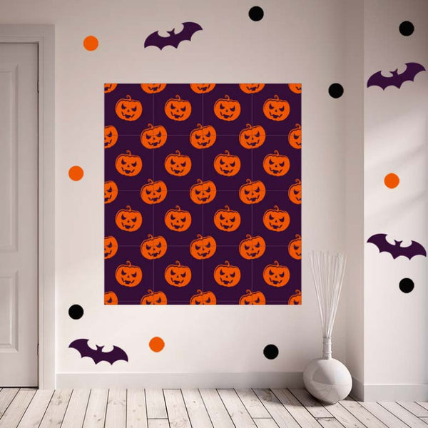 Halloween Pumpkins Set - Photo Booth Backdrop