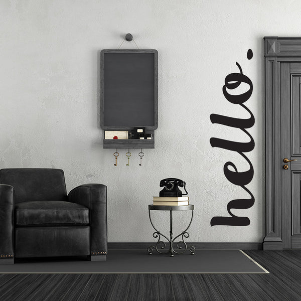 Hello. - Wall Words Decal