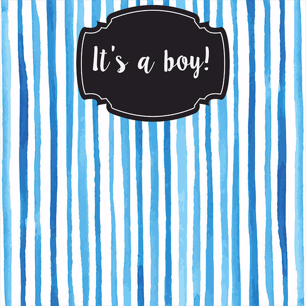 """It's A Boy"" - Photo Booth Backdrop"