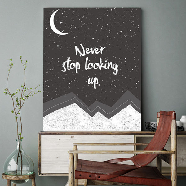 Looking Up - Canvas Print