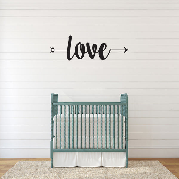 Follow Love - Wall Words Decal